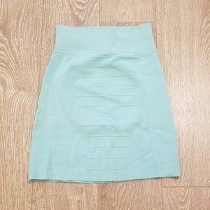 Guess by Marciano mint mini skirt